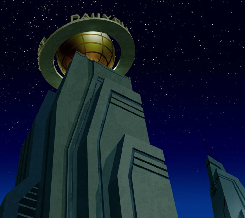 daily planet building